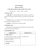 Bài Tập làm văn: Luyện tập dựng đoạn văn tả cây - Giáo án Tiếng việt 4 - GV.N.Phương Hà