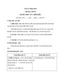 Bài Chính tả: Nghe, viết: Khuất phục tên cướp biển - Giáo án Tiếng việt 4 - GV.N.Phương Hà