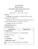 Bài TLV: Luyện tập dựng mở bài trong văn tả cây - Giáo án Tiếng việt 4 - GV.N.Phương Hà