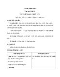 Giáo án Tiếng Việt 4 tuần 26 bài: Tập đọc - Ga-vrốt ngoài chiến lũy
