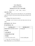 Bài LTVC: Mở rộng vốn từ: Du lịch - Thám hiểm (Tuần 29) - Giáo án Tiếng việt 4 - GV.N.Phương Hà