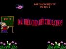 Slide bài Dấu hiệu chia hết cho 2, cho 5 - Toán 6 - GV.Đ.M.Tuấn