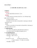Giáo án Số học 6 chương 1 bài 12: Dấu hiệu chia hết cho 3, cho 9