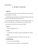 Giáo án Số học 6 chương 1 bài 2: Tập hợp các số tự nhiên