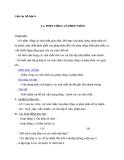 Giáo án Số học 6 chương 1 bài 5: Phép cộng và phép nhân