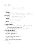 Giáo án Số học 6 chương 3 bài 12: Phép chia phân số