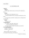 Giáo án Số học 6 chương 3 bài 16: Tìm tỉ số của hai số