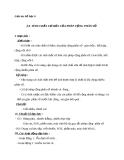 Giáo án Số học 6 chương 3 bài 8: Tính chất cơ bản của phép công phân số