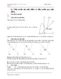 Ôn thi Đại học - Chuyên đề Tiếp tuyến của đồ thị hàm số