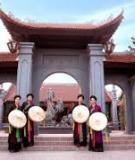 Đề tài: Quy hoạch tổng thể phát triển du lịch Tỉnh Bắc Ninh