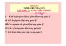 Bài giảng Tâm lý học quản lý: Chương V - TS. Trần Thị Thu Mai
