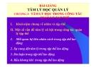 Bài giảng Tâm lý học quản lý: Chương 3 - TS. Trần Thị Thu Mai