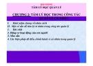 Bài giảng Tâm lý học quản lý: Chương 2 - TS. Trần Thị Thu Mai