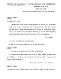 Đề thi học sinh giỏi môn Văn 6 - Kèm đáp án