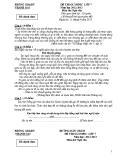 Đề thi Olympic Ngữ Văn lớp 7 -  Phòng GD&ĐT Thanh Oai