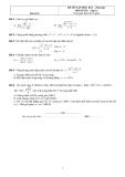 2 Đề ôn tập học kì 2 Toán 11 (Kèm đáp án)