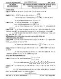 Tổng hợp đề thi học kì 1 môn Toán lớp 10 năm 2012-2013 - Trường THPT Phong Điền-Huế