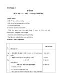 Giáo án tiết 24: Học hát bài: Màu xanh quê hương - Âm nhạc 5 - GV:Bích Huân