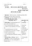 Giáo án tiết 4: Học hát: Bạn ơi lắng nghe - Âm nhạc 4 - GV:Bích Huân