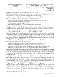 Đề thi thử ĐH môn Vật lí - THPT chuyên Lê Khiết lần 1 (2013-2014) đề 132