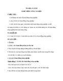 Bài 30: Hoạt động nông nghiệp - Giáo án TNXH 3 - GV:Đ.T.Lý