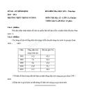 2 Đề kiểm tra HK1 Địa 12 năm 2010 - 2011 - (Kèm Đ.án)
