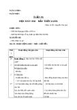 Giáo án Âm nhạc 1 bài 19: Học hát Bầu trời xanh