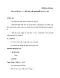 Giáo án Số học 6 chương 1 bài 14: Số nguyên tố. Hợp số. Bảng số nguyên tố