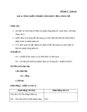 Giáo án bài 8: Tính chất cơ bản của phép cộng phân số - Toán 6 - GV.Đ.M.Tuấn
