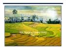 Bài giảng Kinh tế và quản lý môi trường: Chương 1 - Nguyễn Quang Hồng