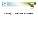 Bài giảng Kinh tế lượng: Chương 3 - Th.s Nguyễn Hải Dương