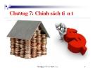 Bài giảng kinh tế Việt Nam: Chương 7 - ThS. Nguyễn Thị Vi
