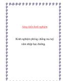 SKKN: Kinh nghiệm phòng chống ma tuý xâm nhập học đường