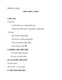 Giáo án Hình học 6 chương 1 bài 1: Điểm. Đường thẳng