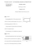Đề thi chọn HSG cấp tỉnh Vật lý 9  - (Kèm Đ.án)