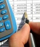 Bài tập môn Kế toán Ngân hàng thương mại