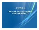 Bài giảng Kinh tế phát triển: Chương 4 - Ths. Bùi Thị Thanh Huyền