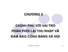Bài giảng Kinh tế công cộng: Chương 3 - Ths. Phạm Xuân Hoà