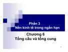 Bài giảng môn Nguyên lý kinh tế vĩ mô: Chương 6 - Lưu Thị Phượng