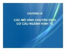 Bài giảng Kinh tế phát triển: Chương 3 - Ths. Bùi Thị Thanh Huyền