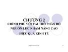 Bài giảng Kinh tế công cộng: Chương 2 - Ths. Phạm Xuân Hoà