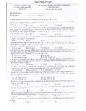 Đề thi thử Đại học môn Hóa học lần 2 năm 2014 - ĐHSP Hà Nội - Mã đề 221