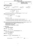 Bộ đề ôn tập học kỳ 2 Toán 11 (2013-2014)  (Kèm đáp án)