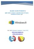 Kiến thức cơ bản và hướng dẫn sử dụng Windows 8 toàn tập