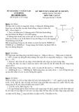 Đề thi vào lớp 10 chuyên năm học 2012 môn Vật lý - Sở GD & ĐT Lâm Đồng - Đề chính thức