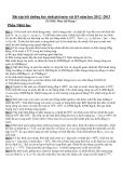 Bài tập bồi dưỡng học sinh giỏi môn vật lí lớp 9 năm học 2012 -2013 - Phần nhiệt học