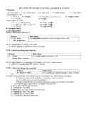 Đề cương ôn tập học kỳ 2 môn Anh lớp 10 (Cơ bản)