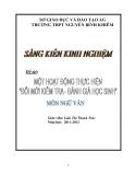 SKKN: Một hoạt động thực hiện đổi mới kiểm tra đánh giá học sinh - môn Ngữ văn