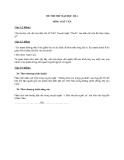 Đề thi thử ĐH Ngữ văn 2014