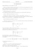 Luyện thi Đại học - Chuyên đề Cực trị hàm số